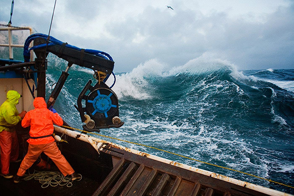 Crab Fishing in the Bering Sea by Cory Arnold