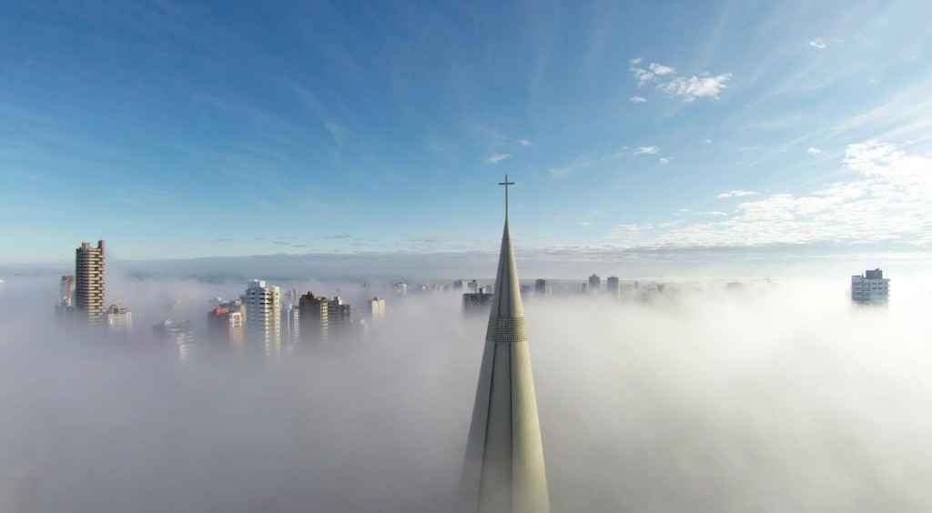 1st Prize Winner – Category Places - Above the mist by Ricardo Matiello