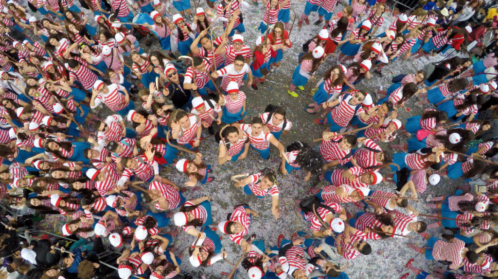 1st Prize Winner Category Dronies Where s Wally  Limassol Carnaval  Cyprus by Flyovermedia Cy