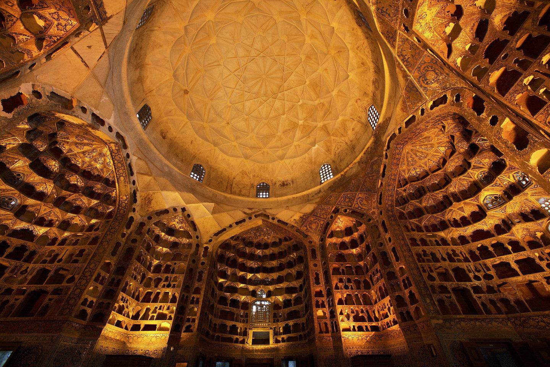 Dome Interior at the Mausoleum of Sheikh Safi-ad-din Arbabili