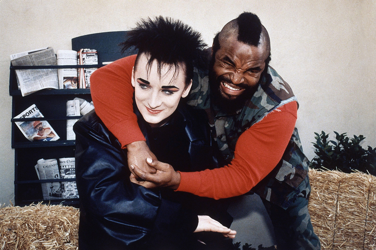 Boy George, Mr. T