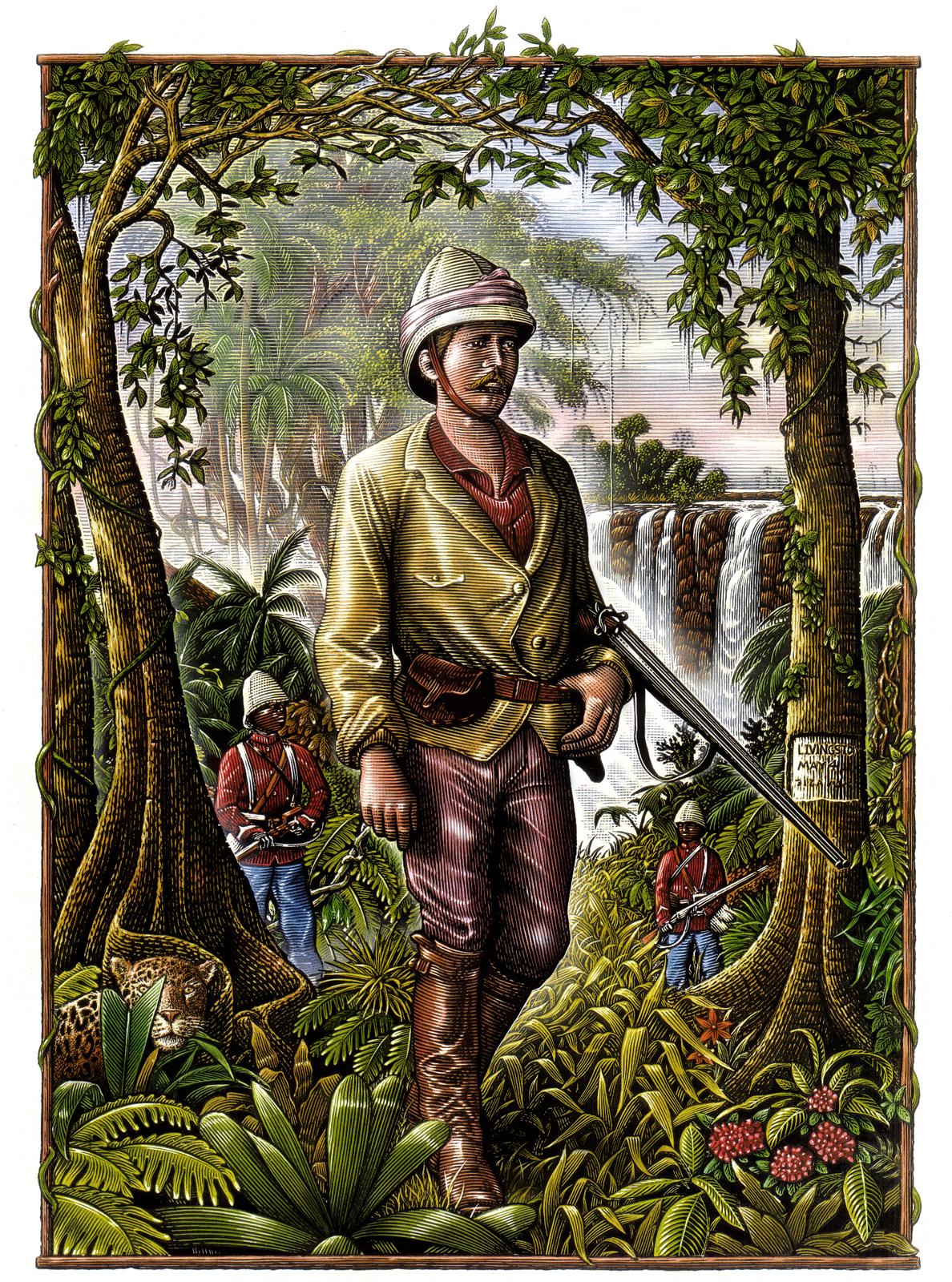 Ilustraciones históricas de Steven Noble 1