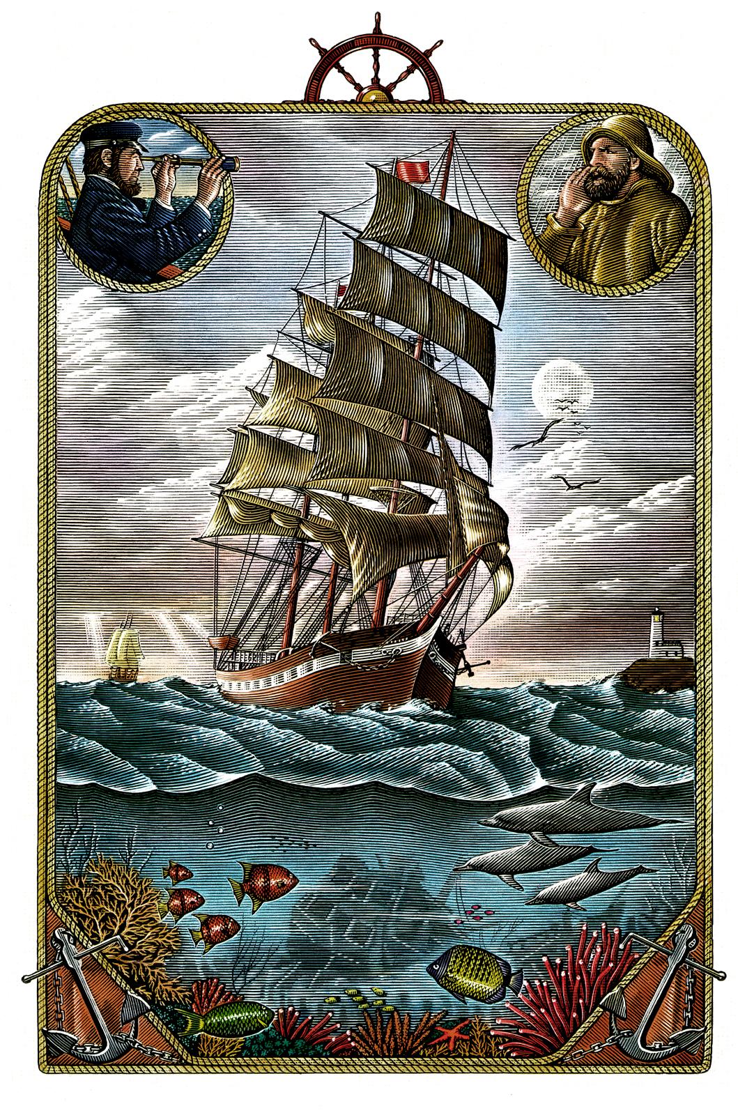Ilustraciones históricas de Steven Noble 3