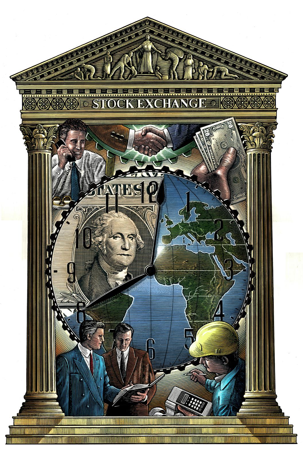 Ilustraciones históricas de Steven Noble 5