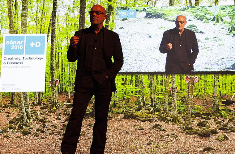 Brian Eno Sonar+D
