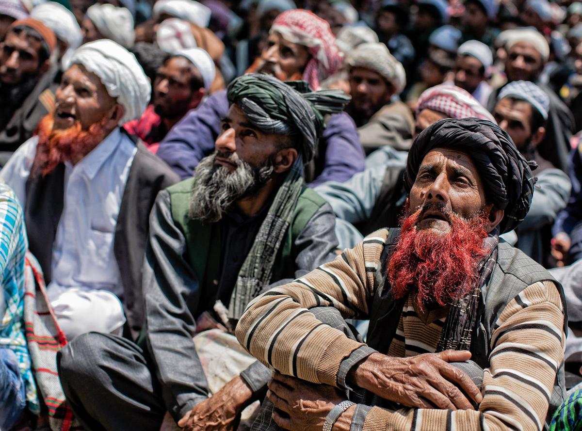 Kashmiri Nomadic Muslim Thronged To Shrine of Miyan Peer On The First Day Of Ramadan